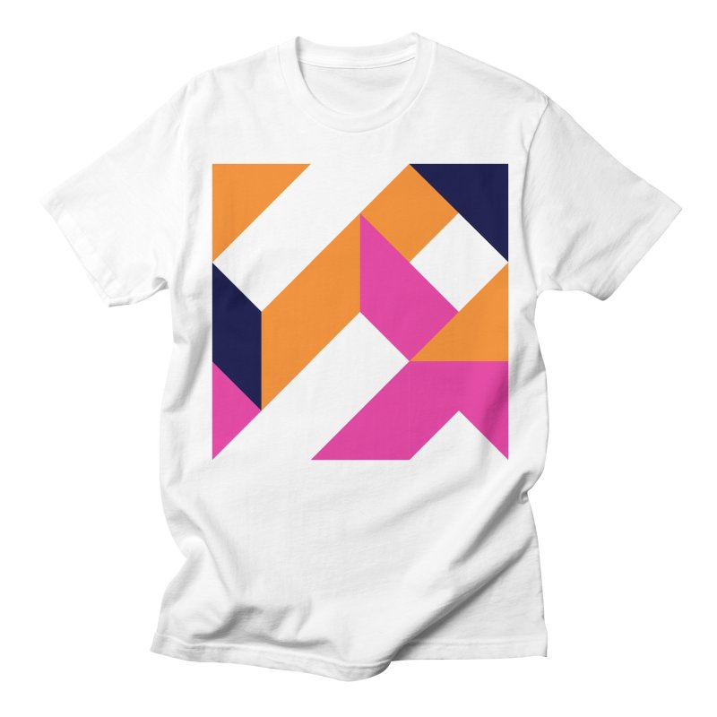 Geometric Design Series 4, Poster 5 (Version 2) Men's T-Shirt by Madeleine Hettich Design & Illustration