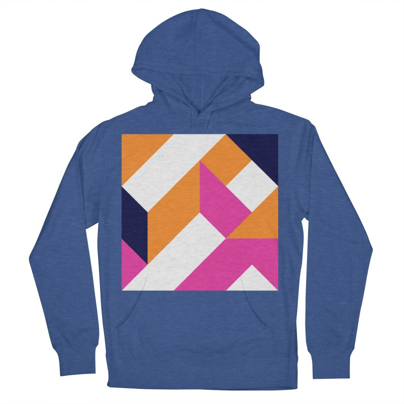 Geometric Design Series 4, Poster 5 (Version 2) Men's French Terry Pullover Hoody by Madeleine Hettich Design & Illustration