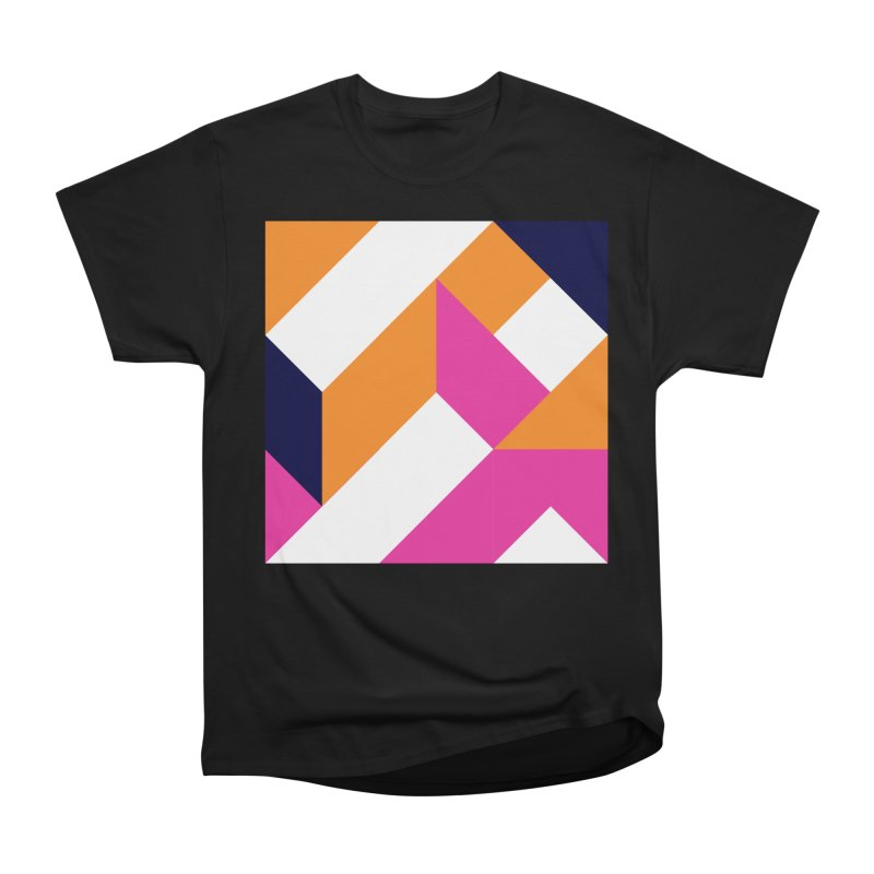 Geometric Design Series 4, Poster 5 (Version 2) Women's Heavyweight Unisex T-Shirt by Madeleine Hettich Design & Illustration