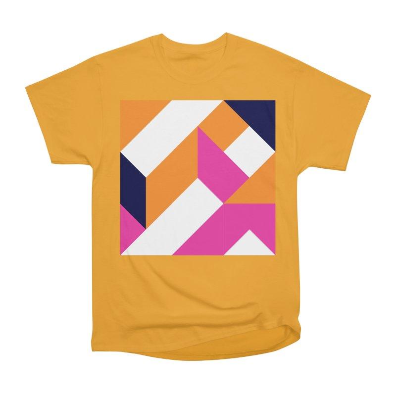 Geometric Design Series 4, Poster 5 (Version 2) Men's Heavyweight T-Shirt by Madeleine Hettich Design & Illustration