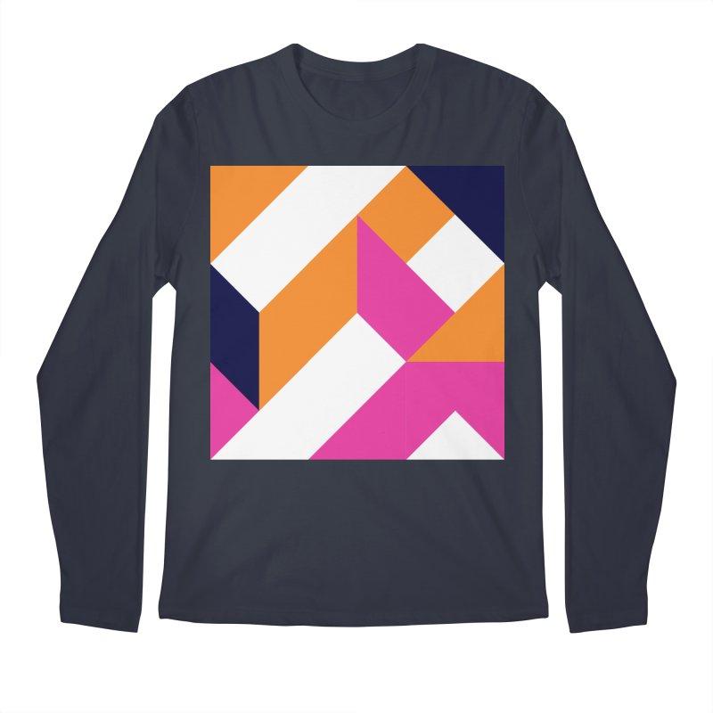 Geometric Design Series 4, Poster 5 (Version 2) Men's Longsleeve T-Shirt by Madeleine Hettich Design & Illustration