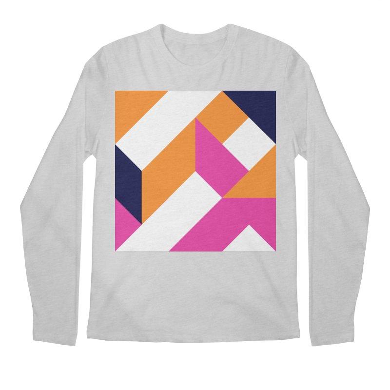 Geometric Design Series 4, Poster 5 (Version 2) Men's Regular Longsleeve T-Shirt by Madeleine Hettich Design & Illustration