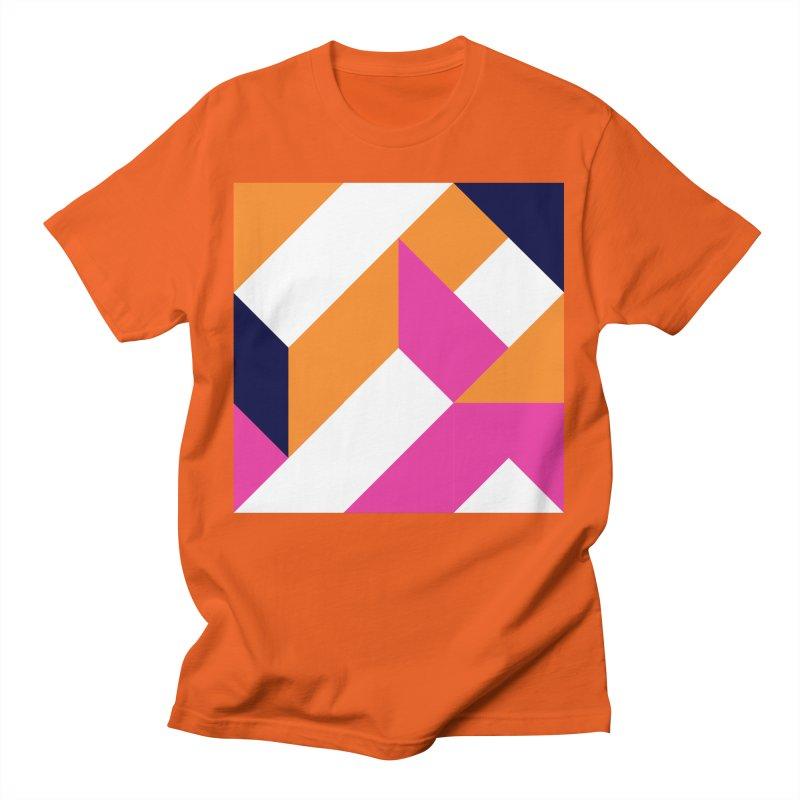 Geometric Design Series 4, Poster 5 (Version 2) Men's T-Shirt by Madeleine Hettich Design & Illustration