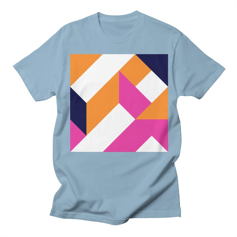 Geometric Design Series 4, Poster 5 (Version 2) Women's Regular Unisex T-Shirt by Madeleine Hettich Design & Illustration