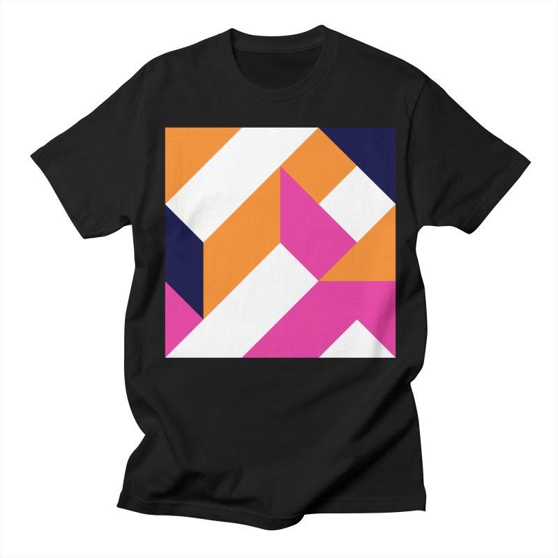 Geometric Design Series 4, Poster 5 (Version 2) Women's Regular Unisex T-Shirt by Madeleine Hettich Design & Illustration