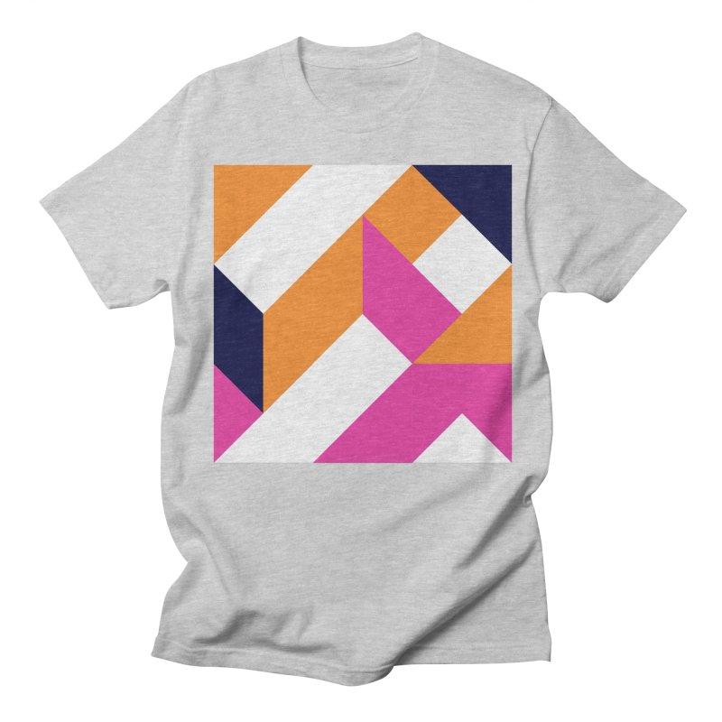 Geometric Design Series 4, Poster 5 (Version 2) Men's Regular T-Shirt by Madeleine Hettich Design & Illustration