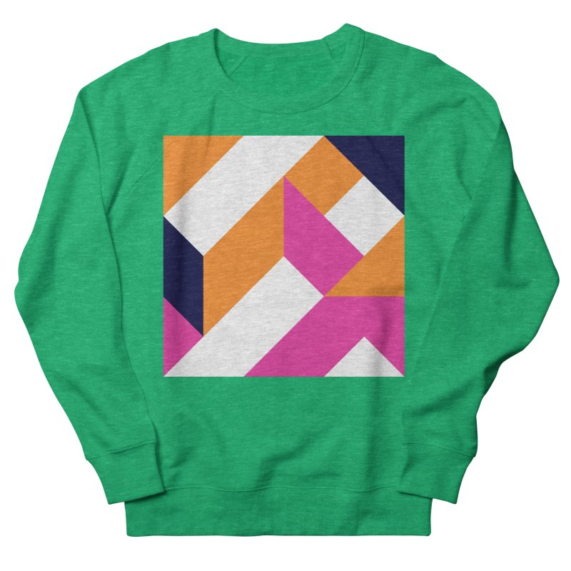 Geometric Design Series 4, Poster 5 (Version 2) Women's Sweatshirt by Madeleine Hettich Design & Illustration