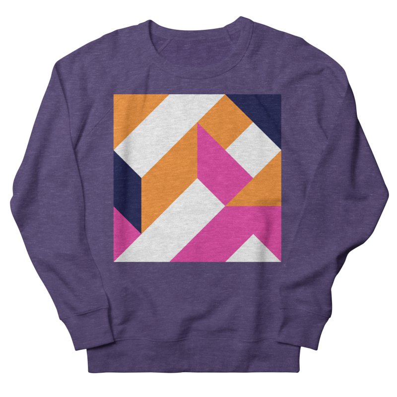 Geometric Design Series 4, Poster 5 (Version 2) Women's Sweatshirt by Madeleine Hettich Design & Illustration