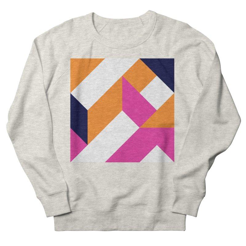 Geometric Design Series 4, Poster 5 (Version 2) Women's French Terry Sweatshirt by Madeleine Hettich Design & Illustration