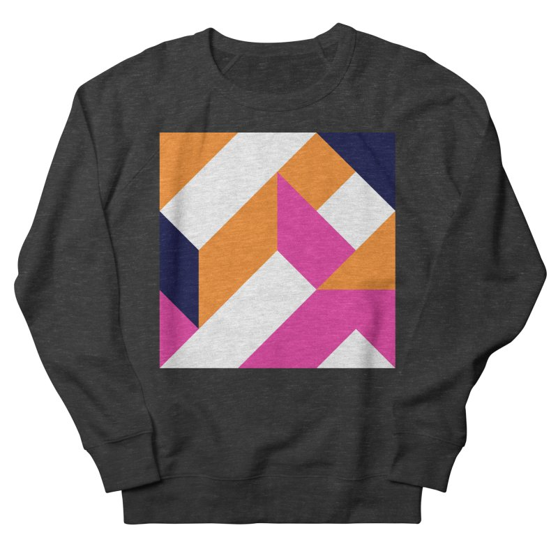 Geometric Design Series 4, Poster 5 (Version 2) Men's Sweatshirt by Madeleine Hettich Design & Illustration