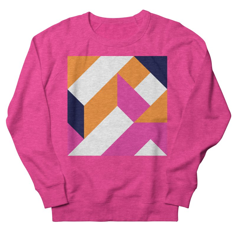 Geometric Design Series 4, Poster 5 (Version 2) Men's French Terry Sweatshirt by Madeleine Hettich Design & Illustration