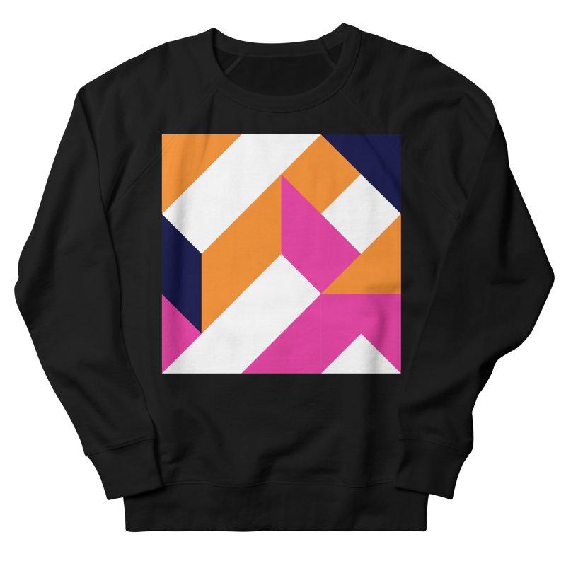 Geometric Design Series 4, Poster 5 (Version 2) Men's French Terry Sweatshirt by Madeleine Hettich Design & Illustration