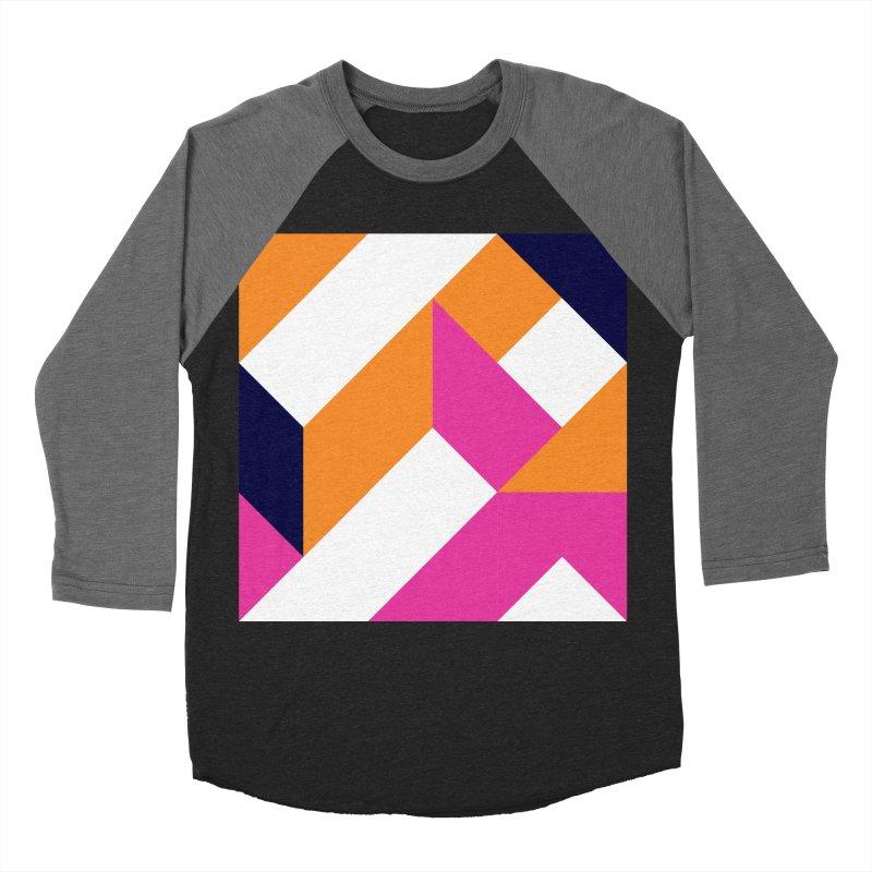 Geometric Design Series 4, Poster 5 (Version 2) Men's Baseball Triblend T-Shirt by Madeleine Hettich Design & Illustration