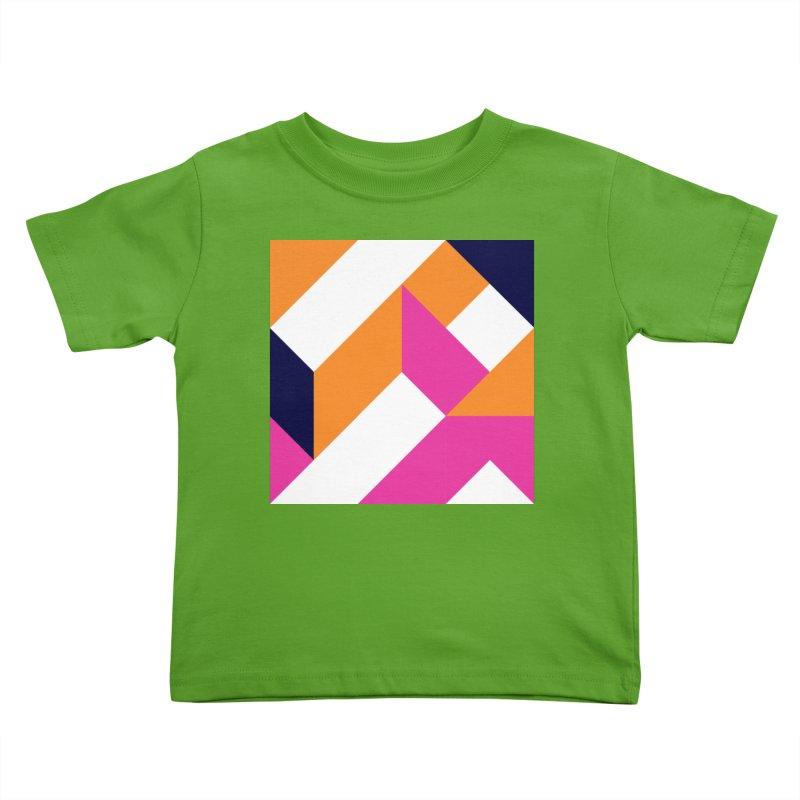 Geometric Design Series 4, Poster 5 (Version 2) Kids Toddler T-Shirt by Madeleine Hettich Design & Illustration