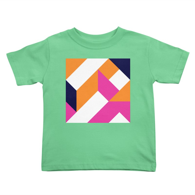 Geometric Design Series 4, Poster 5 (Version 2) Kids Toddler T-Shirt by Madeleine Hettich Design & Illustration