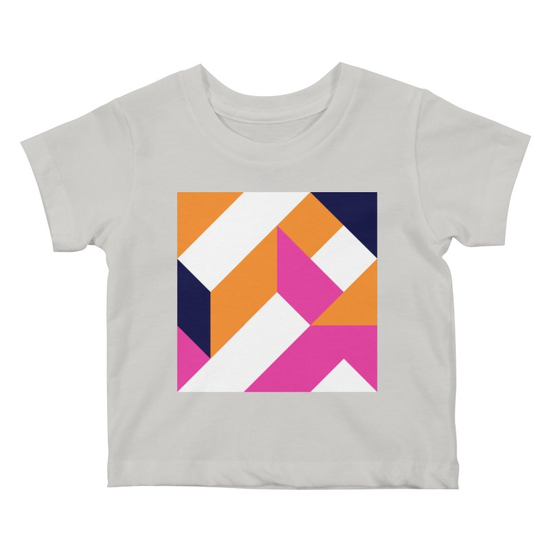 Geometric Design Series 4, Poster 5 (Version 2) Kids Baby T-Shirt by Madeleine Hettich Design & Illustration