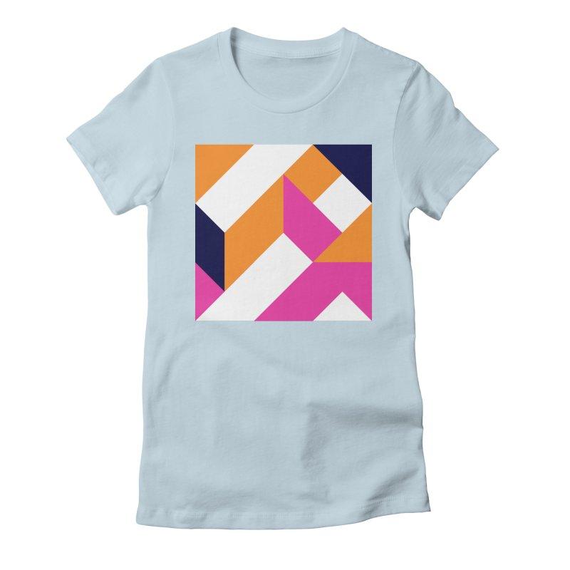 Geometric Design Series 4, Poster 5 (Version 2) Women's T-Shirt by Madeleine Hettich Design & Illustration