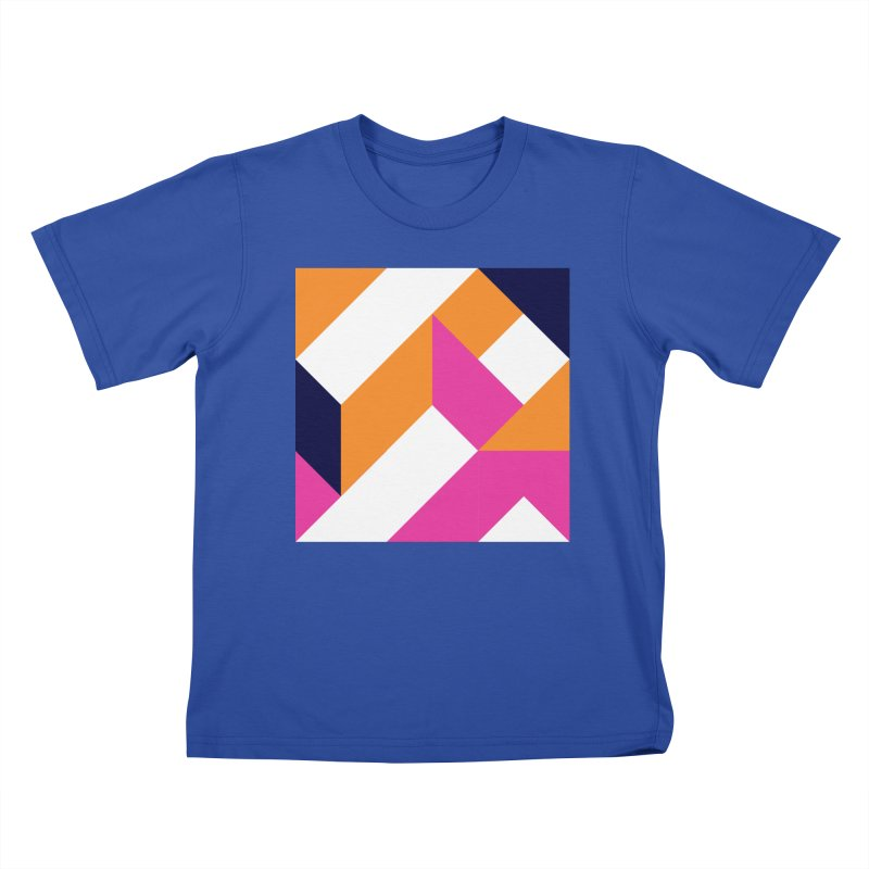 Geometric Design Series 4, Poster 5 (Version 2) Kids T-Shirt by Madeleine Hettich Design & Illustration