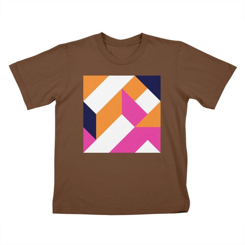 Geometric Design Series 4, Poster 5 (Version 2) Kids T-Shirt by Madeleine Hettich Design & Illustration