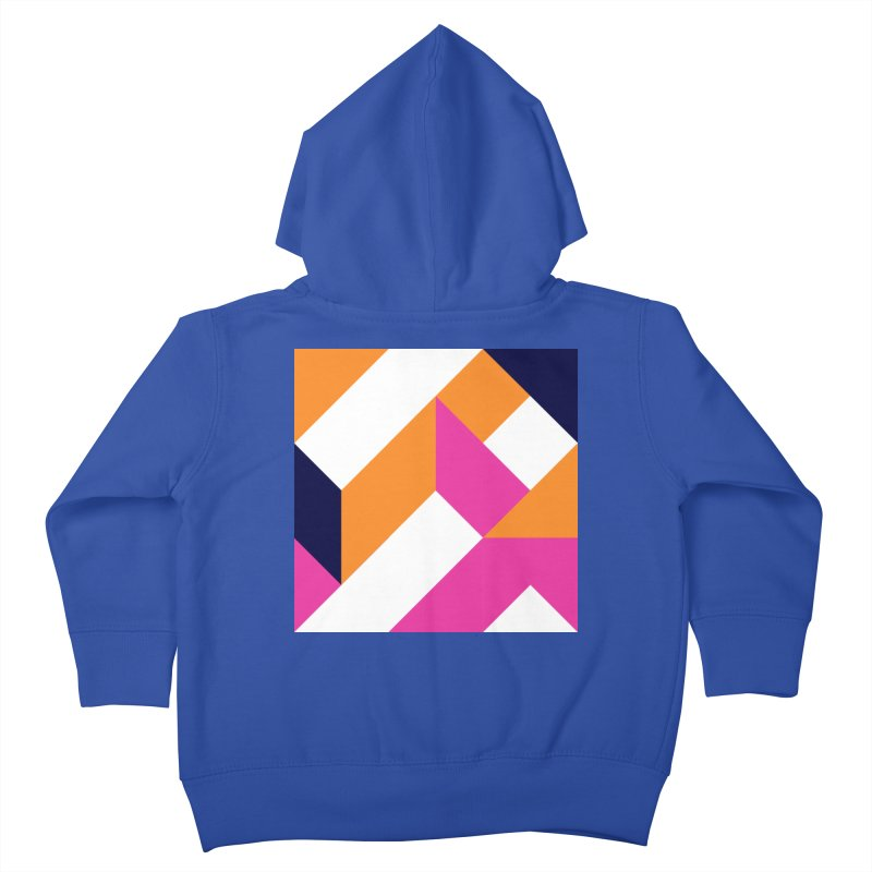Geometric Design Series 4, Poster 5 (Version 2) Kids Toddler Zip-Up Hoody by Madeleine Hettich Design & Illustration