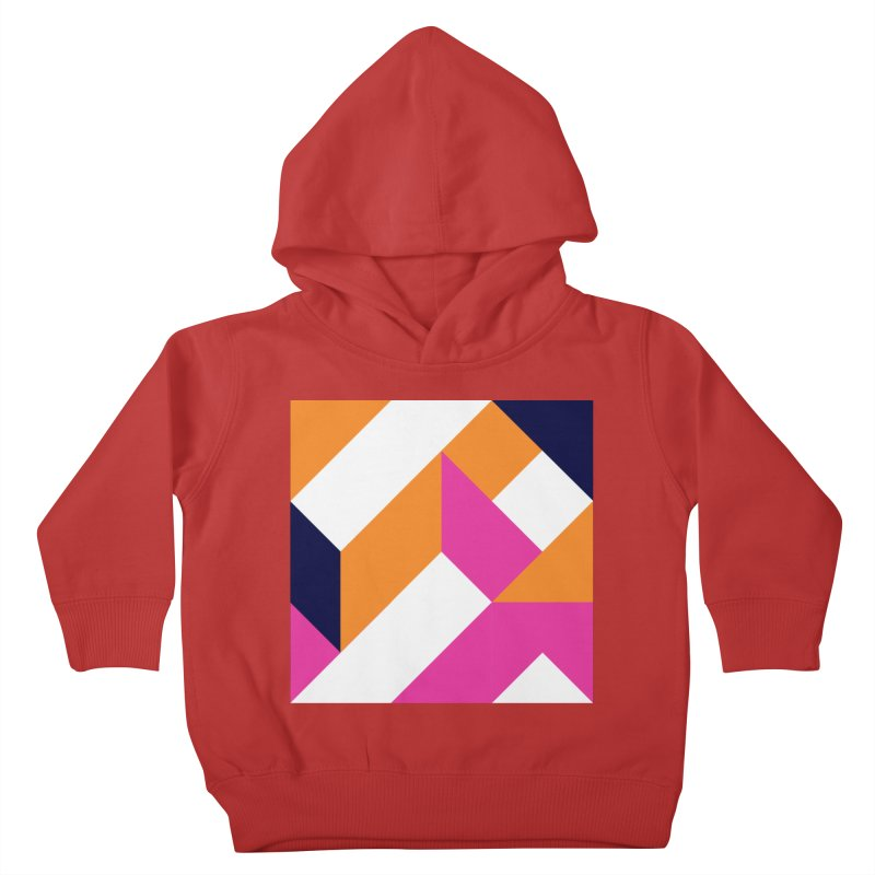 Geometric Design Series 4, Poster 5 (Version 2) Kids Toddler Pullover Hoody by Madeleine Hettich Design & Illustration