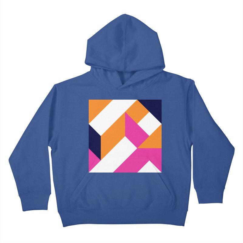 Geometric Design Series 4, Poster 5 (Version 2) Kids Pullover Hoody by Madeleine Hettich Design & Illustration