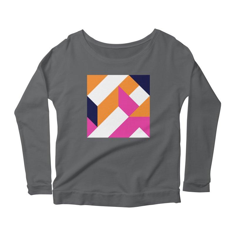 Geometric Design Series 4, Poster 5 (Version 2) Women's Longsleeve T-Shirt by Madeleine Hettich Design & Illustration