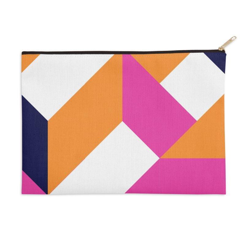Geometric Design Series 4, Poster 5 (Version 2) Accessories Zip Pouch by Madeleine Hettich Design & Illustration