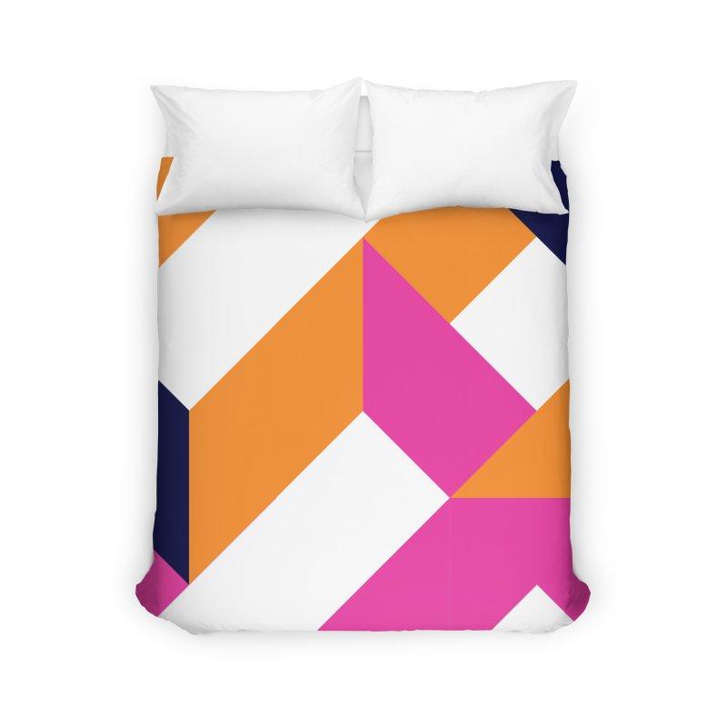 Geometric Design Series 4, Poster 5 (Version 2) Home Duvet by Madeleine Hettich Design & Illustration