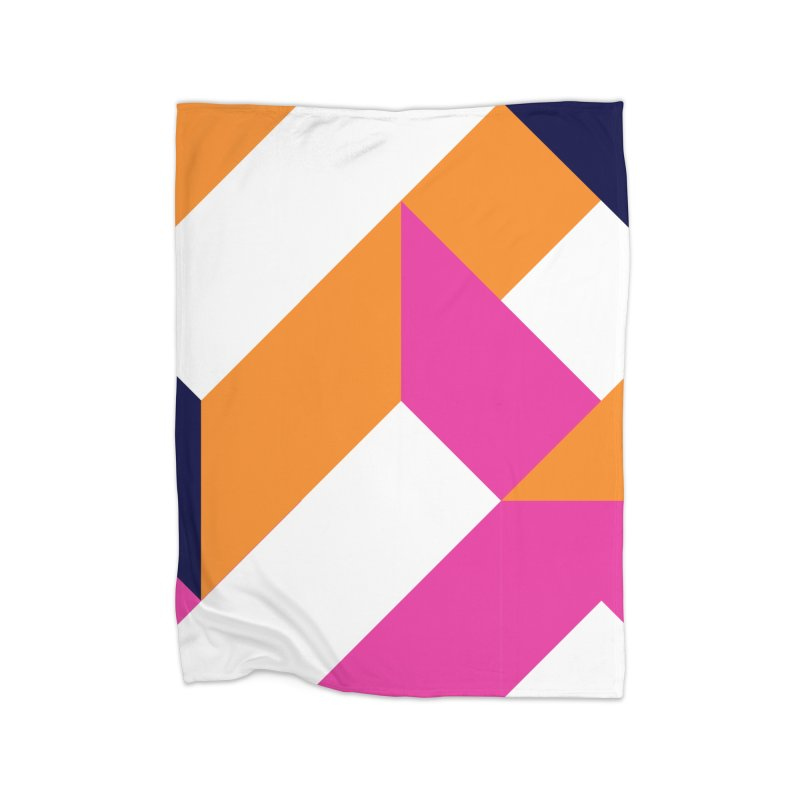 Geometric Design Series 4, Poster 5 (Version 2) Home Fleece Blanket Blanket by Madeleine Hettich Design & Illustration