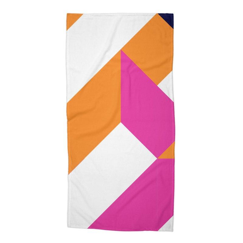 Geometric Design Series 4, Poster 5 (Version 2) Accessories Beach Towel by Madeleine Hettich Design & Illustration