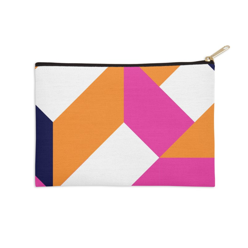 Geometric Design Series 4, Poster 5 (Version 2) Accessories Zip Pouch by Madeleine Hettich Design & Illustration