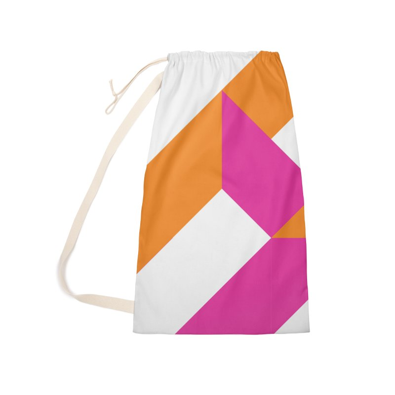 Geometric Design Series 4, Poster 5 (Version 2) Accessories Laundry Bag Bag by Madeleine Hettich Design & Illustration