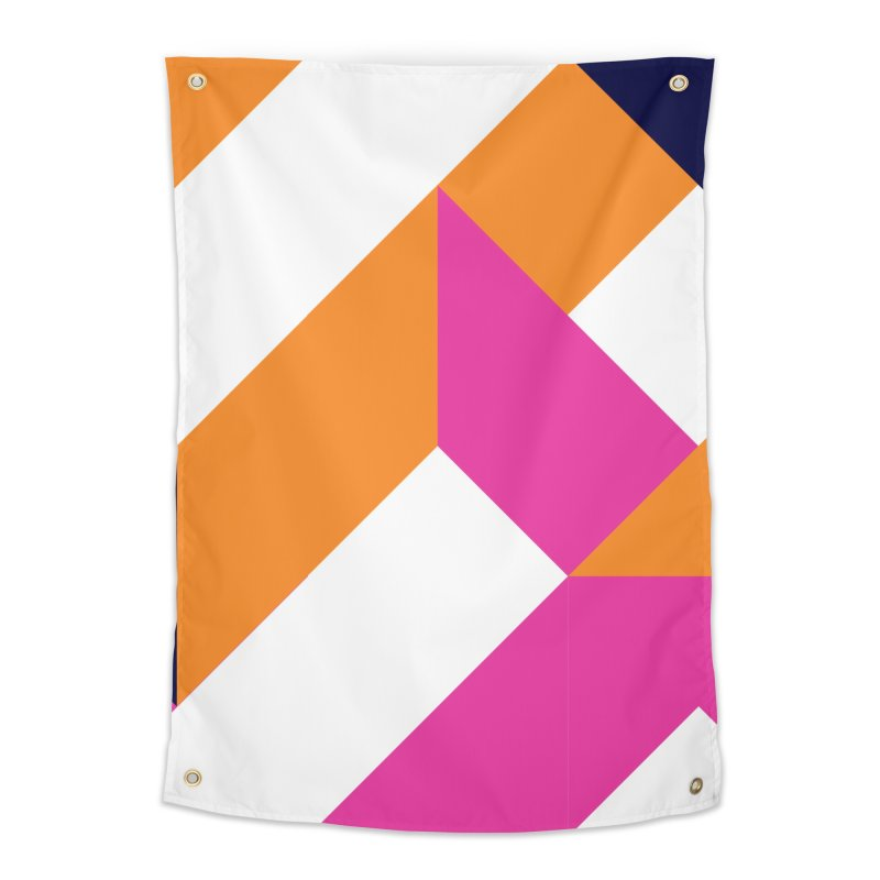 Geometric Design Series 4, Poster 5 (Version 2) Home Tapestry by Madeleine Hettich Design & Illustration