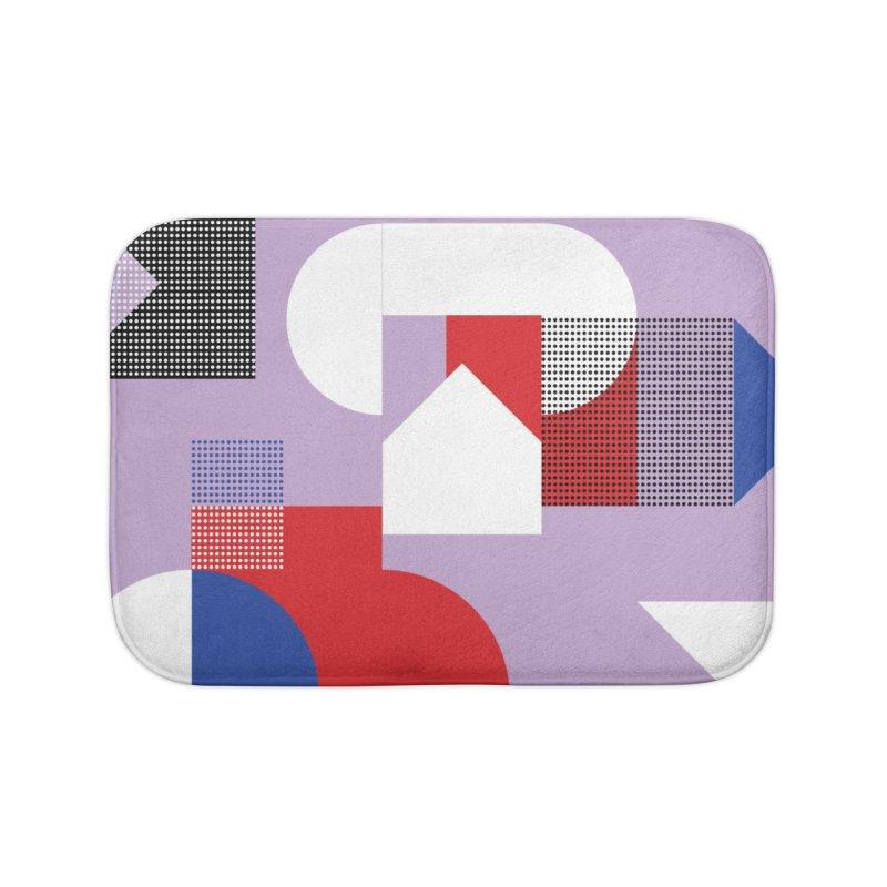 Kaleidoscope Design Series 1, Poster 19 Home Bath Mat by Madeleine Hettich Design & Illustration
