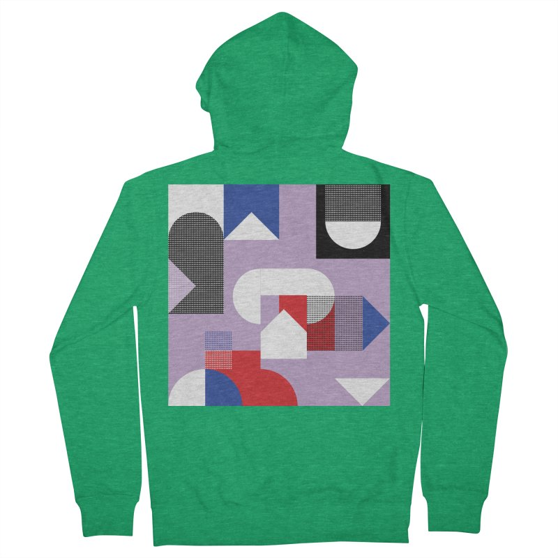 Kaleidoscope Design Series 1, Poster 19 Women's Zip-Up Hoody by Madeleine Hettich Design & Illustration