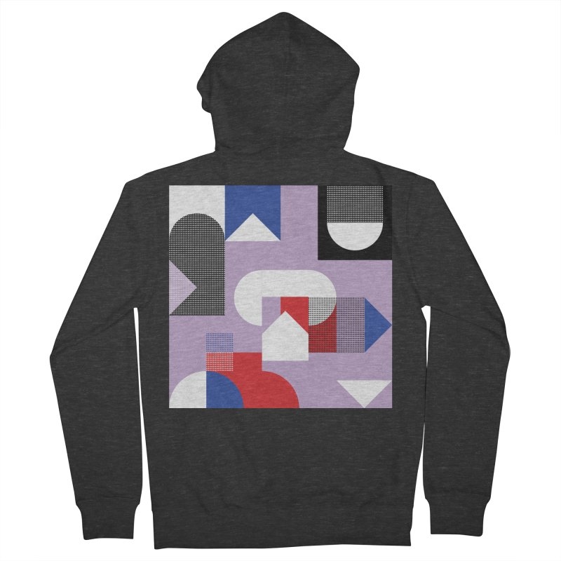 Kaleidoscope Design Series 1, Poster 19 Women's French Terry Zip-Up Hoody by Madeleine Hettich Design & Illustration