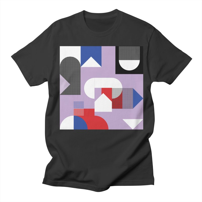 Kaleidoscope Design Series 1, Poster 19 Men's Regular T-Shirt by Madeleine Hettich Design & Illustration
