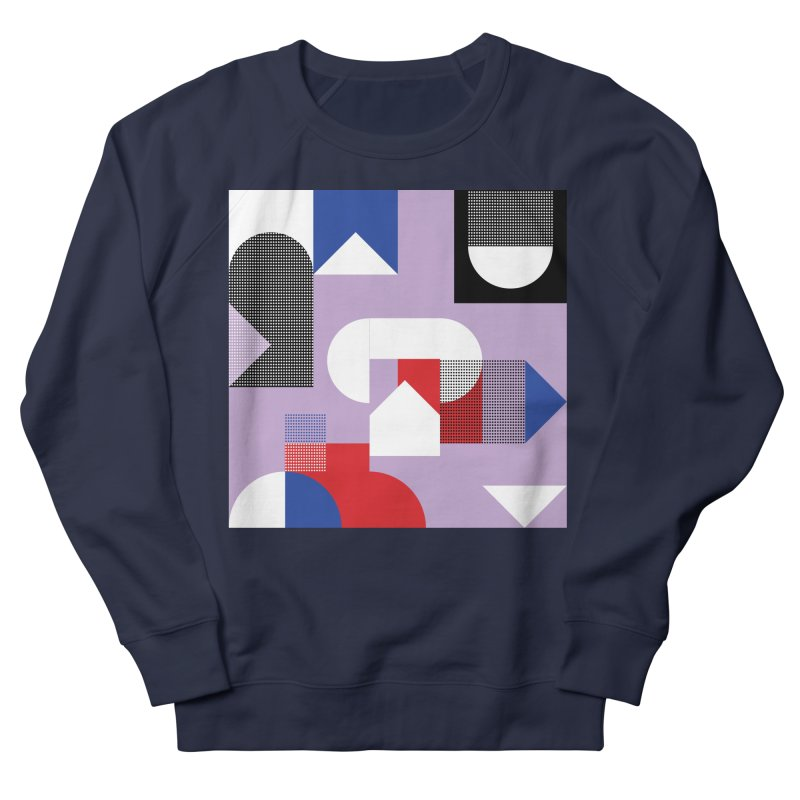Kaleidoscope Design Series 1, Poster 19 Men's French Terry Sweatshirt by Madeleine Hettich Design & Illustration