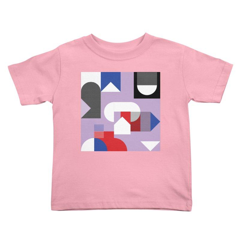 Kaleidoscope Design Series 1, Poster 19 Kids Toddler T-Shirt by Madeleine Hettich Design & Illustration