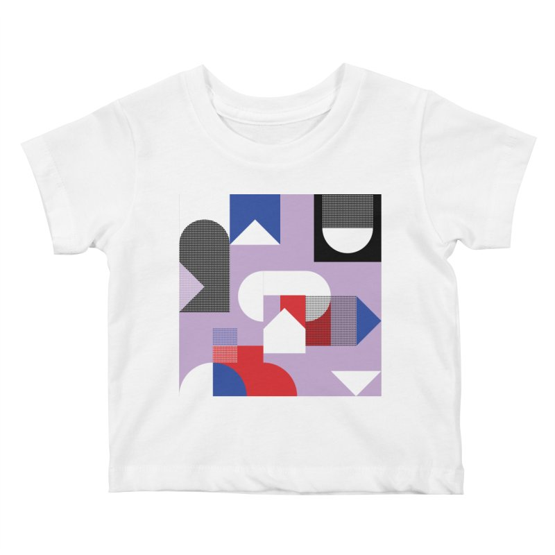 Kaleidoscope Design Series 1, Poster 19 Kids Baby T-Shirt by Madeleine Hettich Design & Illustration