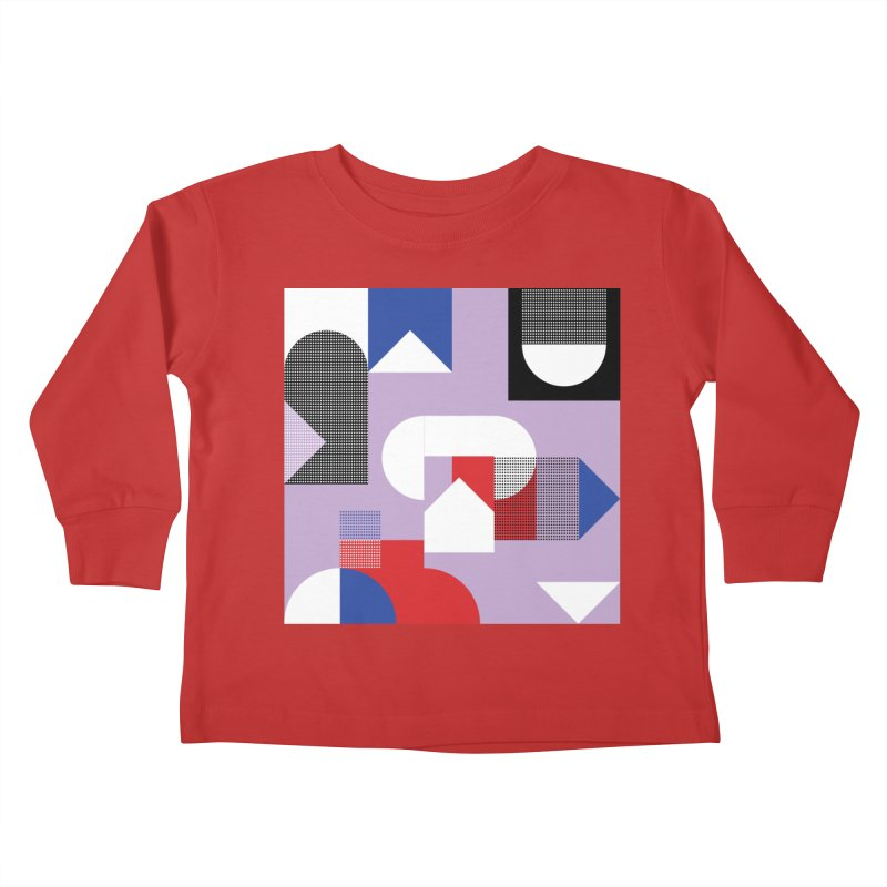 Kaleidoscope Design Series 1, Poster 19 Kids Toddler Longsleeve T-Shirt by Madeleine Hettich Design & Illustration