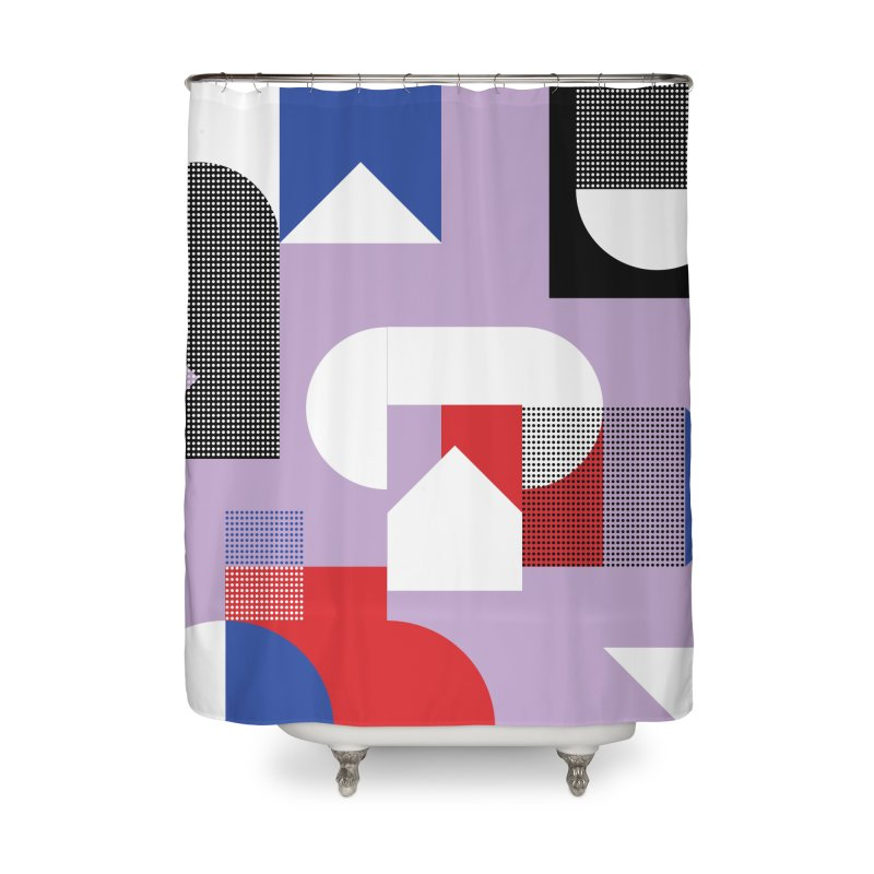 Kaleidoscope Design Series 1, Poster 19 Home Shower Curtain by Madeleine Hettich Design & Illustration
