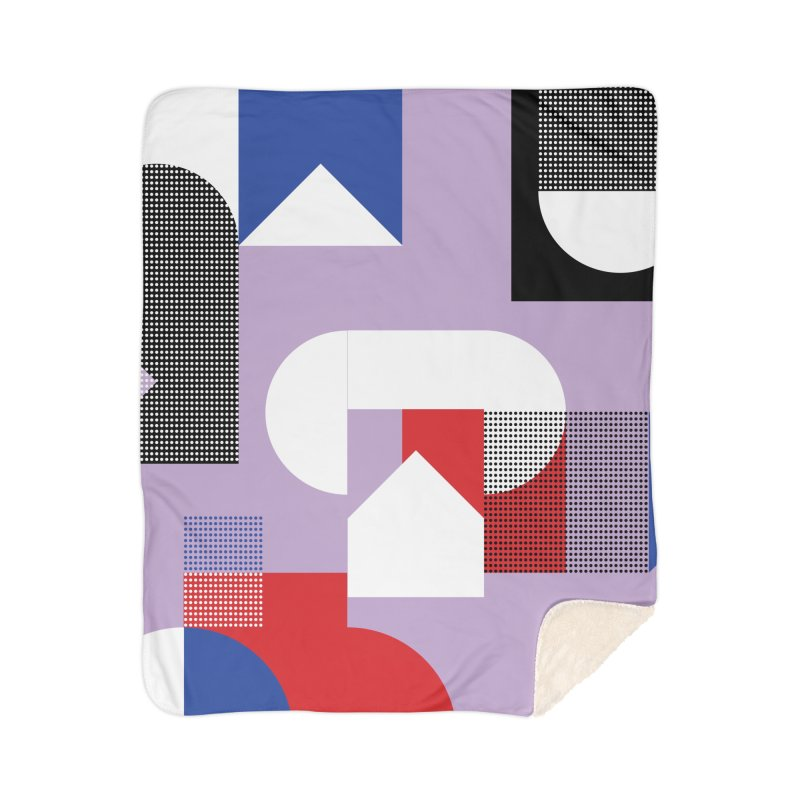 Kaleidoscope Design Series 1, Poster 19 Home Sherpa Blanket Blanket by Madeleine Hettich Design & Illustration