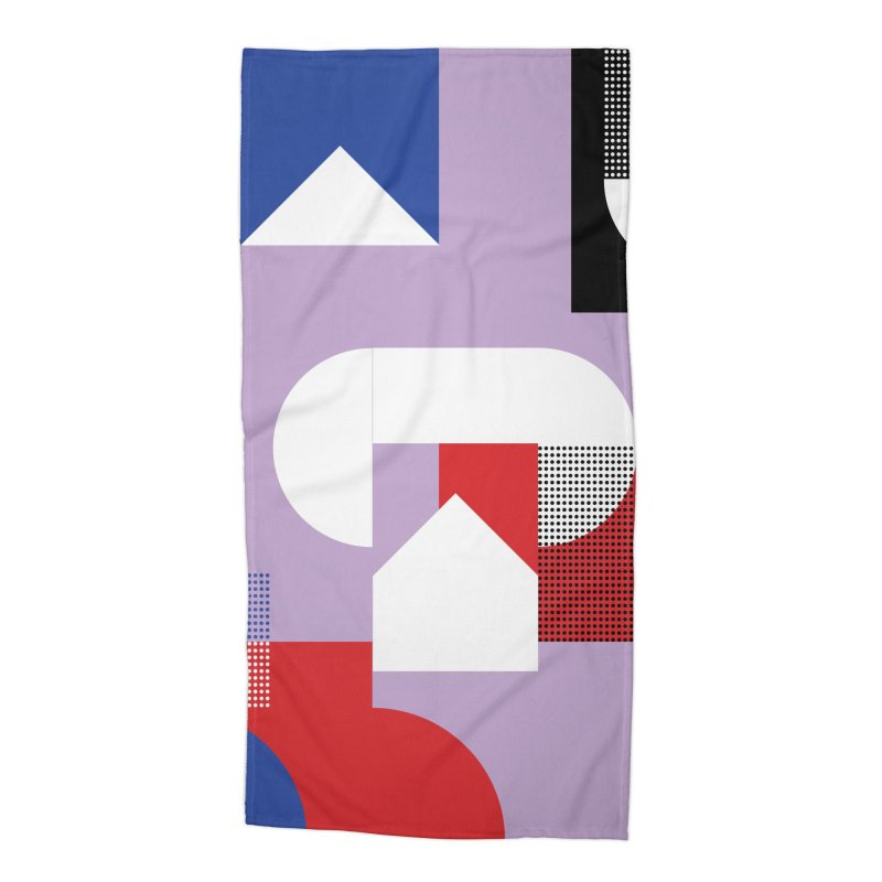 Kaleidoscope Design Series 1, Poster 19 Accessories Beach Towel by Madeleine Hettich Design & Illustration