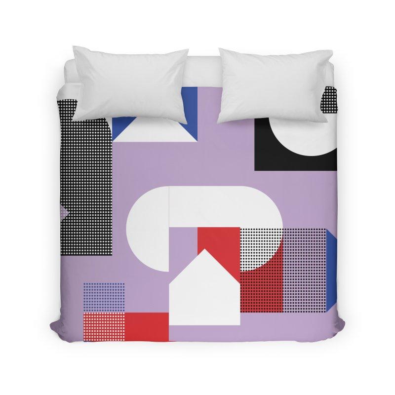 Kaleidoscope Design Series 1, Poster 19 Home Duvet by Madeleine Hettich Design & Illustration