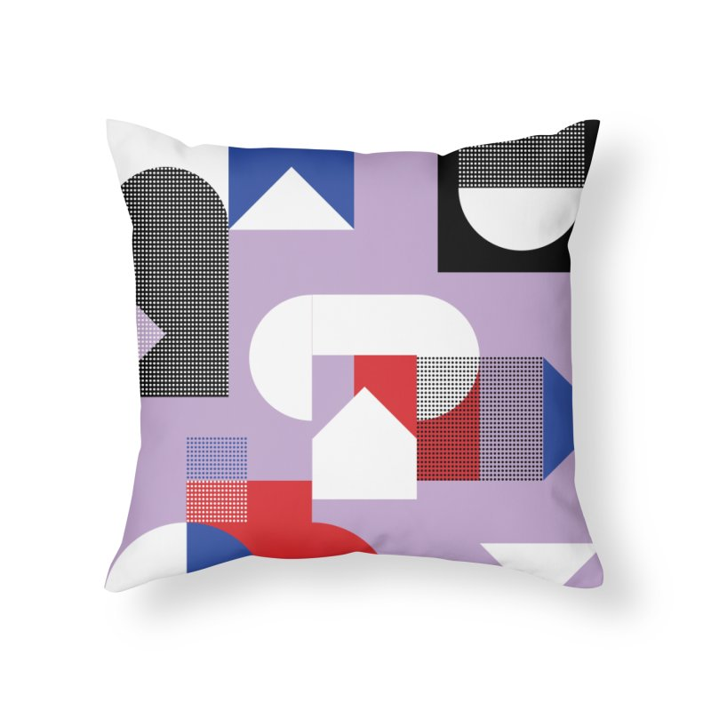 Kaleidoscope Design Series 1, Poster 19 Home Throw Pillow by Madeleine Hettich Design & Illustration
