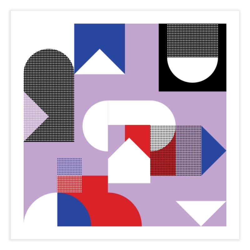 Kaleidoscope Design Series 1, Poster 19 Home Fine Art Print by Madeleine Hettich Design & Illustration
