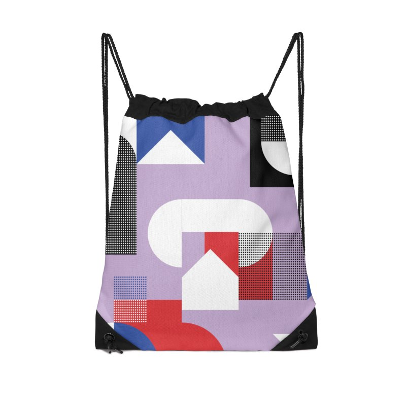 Kaleidoscope Design Series 1, Poster 19 Accessories Drawstring Bag Bag by Madeleine Hettich Design & Illustration