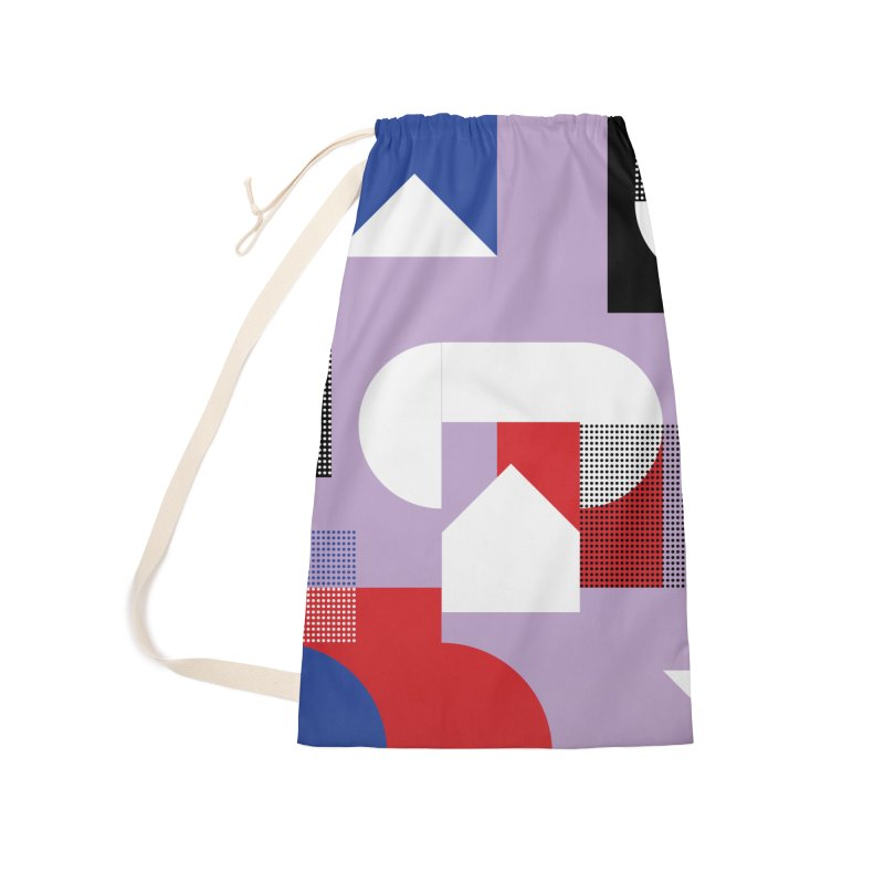 Kaleidoscope Design Series 1, Poster 19 Accessories Laundry Bag Bag by Madeleine Hettich Design & Illustration